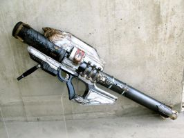 GJALLARHORN - exotic rocket launcher by KarinOlava