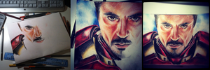 Iron Man progress by teubo