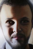 Self portrait ( detail ) by AtomiccircuS