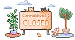Commission Closed F2U by Syumi