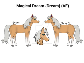 Magical Dream {Dream} Reference by Sayori-Miuzuki