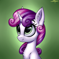 [COMMISSION] Sweetie Belle by Setharu