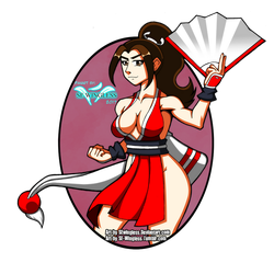 Mai Shiranui Fan Art by SEwingless