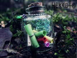 World in Bottle - I waiting for you by Hekkoto