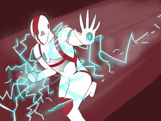 White Lightning by Jersey-cow