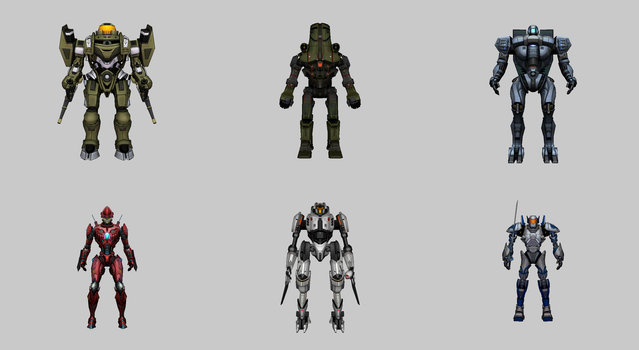 Pacific Rim: Breach Wars - Jaeger Pack 2 for XPS by Aequitas-Imperator