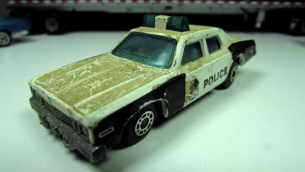 Matchbox Plymouth Gran Fury Police by craftymore