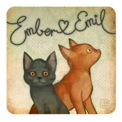 Ember and Emil by IsaMeeps