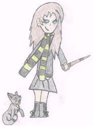 Amber from Hogwarts by Amber11eevee