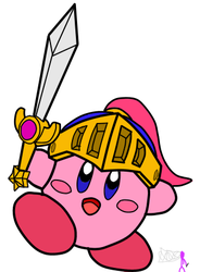 Sword Kirby by Doctor-deviant64