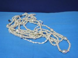 Pearl Necklace 8 by InToXiCaTeD--StOcK