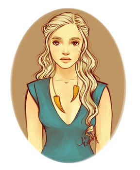 Mother of Dragons by kimpertinent