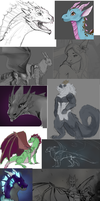 'Idk what im doing so heres art dump' starter pack by Deviant-Soulmates