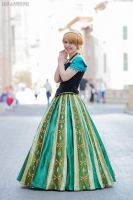 Anna Of Arendelle from Frozen by Rapunzinette
