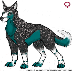Wolf Adopt 2 Closed by LadyDistort