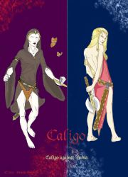 Caligo against Vania by tachita