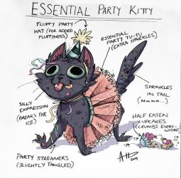 Essential Party Kitty by AmyVsTheWorld