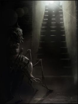 The Thing in the Cellar by AndyFairhurst