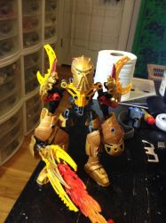 Red (Golden Armor) {Dragon Mode} by Ark770