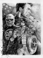 Captain America: The First Avenger by GabeFarber