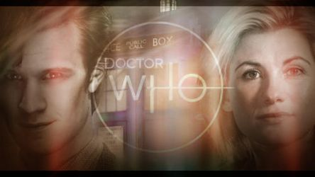 11th and 13th Doctors - Doctor Who Banner by StefanMK1