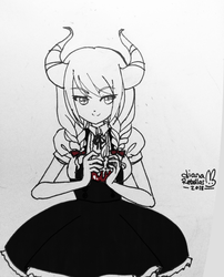 inktober day 1 by yume
