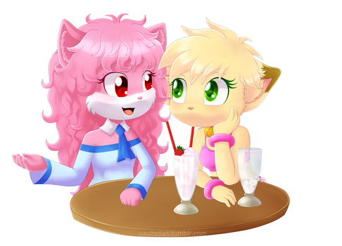 Commission: Annie y April by RushFeel
