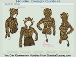 Giraffe Hoodie Contest Entry by Ejlen