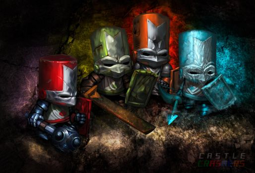 Castle Crashers by edsfox