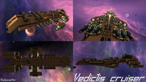 Vedictis Cruiser by thespacepon3