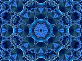 Experiment with Blue by BGai