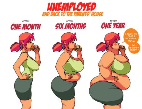 Unemployed Girl (WG) by maxmam