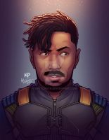 Killmonger Portrait by kpetchock