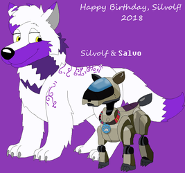 An Early Birthday Gift for Silvolf by JustinandDennis