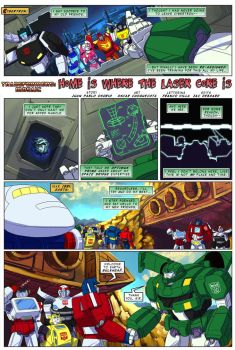 Home is Where The LaserCore Is by Transformers-Mosaic