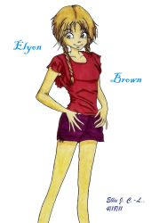 Project Piece III: Elyon Brown by Sokai-Sama