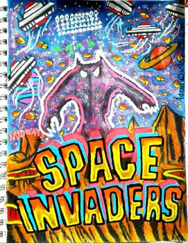 Space Invaders  by toonaddict2017
