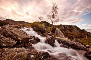 Ogwen Waterfall by CharmingPhotography