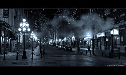 Gastown Nights II by Val-Faustino