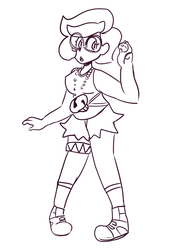 Wicke as a team skull grunt by OivaTameko