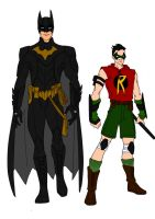 Batman Year One-Batman And Robin Redesigns! by Comicbookguy54321