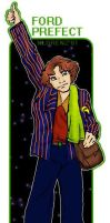 Ford Prefect Thumbs a Lift by napalmnacey