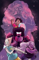 Steven Universe We Are The Crystal Gems! by PhoenixFuryBane