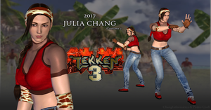 2017 | Julia Chang - Tekken 3 (P2) - XPS Download by Pedro-Croft