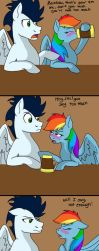 Rainbow,You're Drunk by Colourstrike