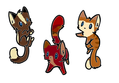 Adoptables (Prices in the description) by ieizwarriorcat