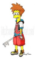 Sora Simpsons version by Sommum