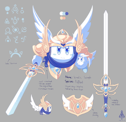 [Concept] Kirby FCs - Iemalis, Seraph by AssassinKnight-47