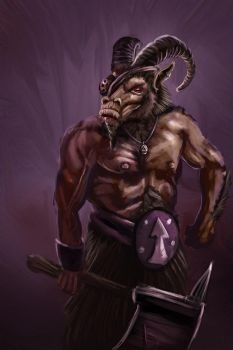 a beastmen by munkierevolution