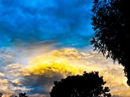 Golden Clouds by SByrnes